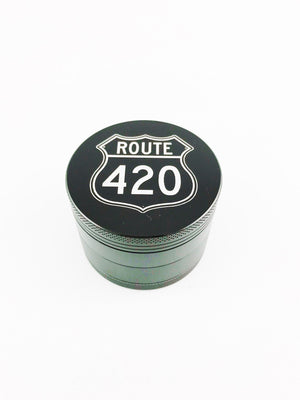 Route 420 Grinder Medium 4 Piece Black