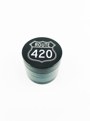 Route 420 Grinder Small 4 Piece Black