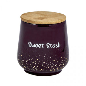 Sweet Stash Ceramic Stash Jar