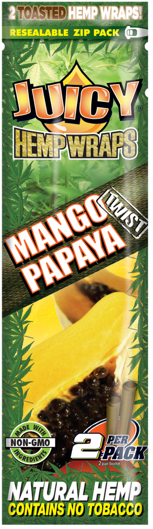 Juicy Hemp Wraps - Mango Papaya