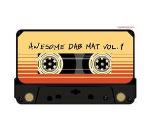 Awesome Dab Mat Volume 1, Coloured Cassette Tape as a silicone dab mat to protect your table.