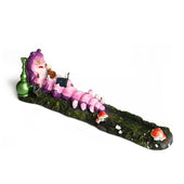 Incense Holder Smoking Caterpillar