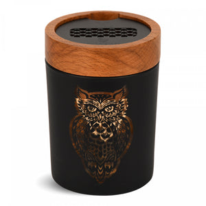 Smart Stash Jar and Grinder Owllusion