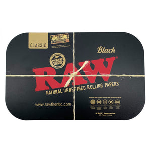 Raw Black Magnetic Rolling Tray Cover