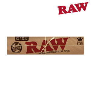 RAW Natural King Size Slim 6 Pack