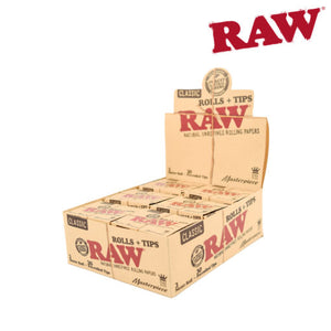 RAW Natural Masterpiece King Size Roll & 30 Tip