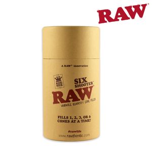 RAW Cone Filler Six Shooter