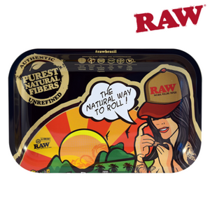 Raw Rolling Tray Brazil Small