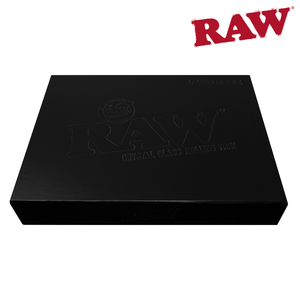 Raw Crystal Glass Rolling Tray