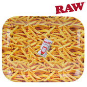 Raw Rolling Tray French Fries