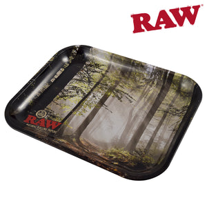 RAW Rolling Tray Smokey Trees
