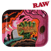 Raw Rolling Tray Zombie Large