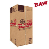 Raw Natural PreRolled Cones 1 1/4 900 Box