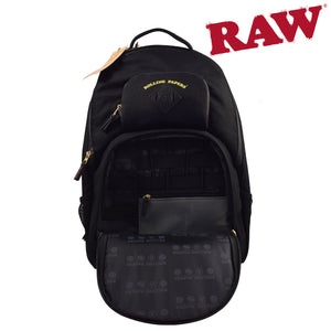 "RAW Black Backpack ""Bakepack"""