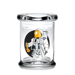 Pop-Top Jar Spaceman