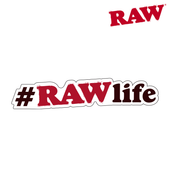 Raw Sticker Hashtag Raw Life