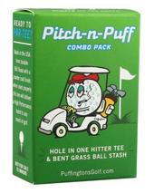 Puffingtons Golf Combo Pack Pitch-n-Puff