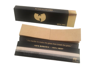 Wu Tang Kingsize Papers w/Tips