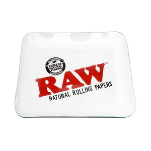 Raw Glass Rolling Tray.  Limited Edition. Only Available in Large