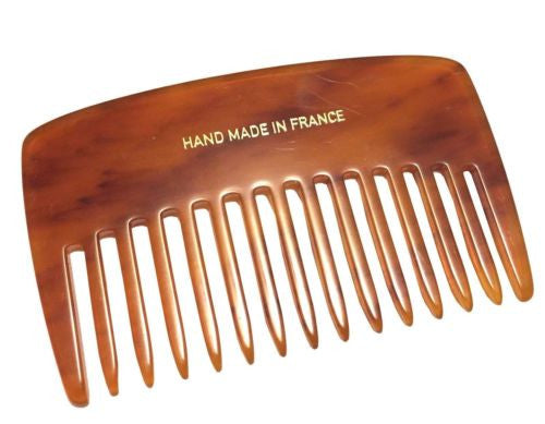 French Amie Pocket Book Small Handmade Soft Cellulose Acetate Hair Comb-FRENCH AMIE-ebuyfashion.com