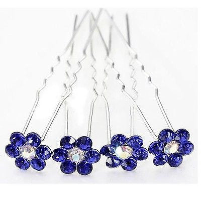 Moeni 10pcs Beautiful Crystal Rhinestone U Hair Pins-Moeni-ebuyfashion.com