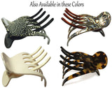 French Amie Scoop Handmade Medium Salon Hair Side Slider Beak Jaw Claw Clip-FRENCH AMIE-ebuyfashion.com