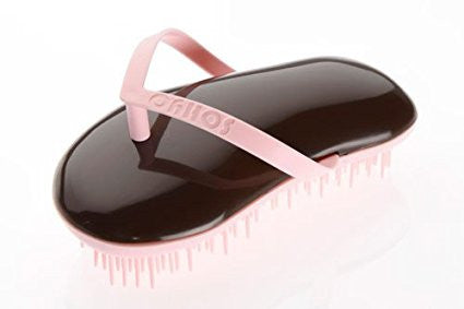 Sohyo Flip Flop Candy Choc Detangler Brush Comb For Wavy Thick Fine Dry Wet Hair-Sohyo-ebuyfashion.com