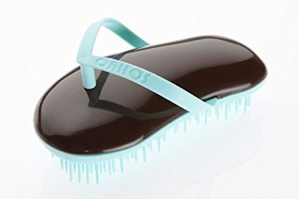 Sohyo Flip Flop Lagoon Choco Detangler Brush Comb For Knotted Hair-Sohyo-ebuyfashion.com