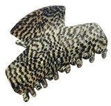 French Amie Chic Opera Handmade Celluloid Medium 2 1/4 Inch Jaw Hair Claw Clip-ebuyfashion.com-ebuyfashion.com