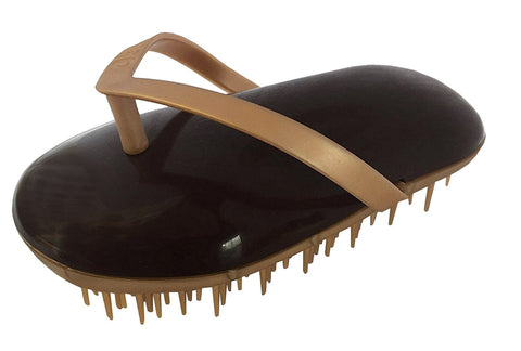 Sohyo Flip Flop Gold Licorise Detangler Brush Comb For Any Hair Type-Sohyo-ebuyfashion.com