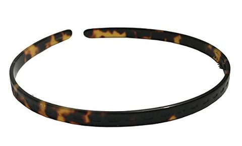 French Amie Thin Tokyo Handmade Celluloid Light Weight Hair Headband