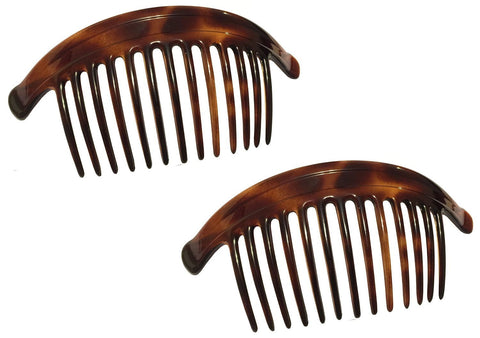 Parcelona France Arch Extra Large Shell 13 Teeth Interlocking Side Hair Comb Com-ebuyfashion.com-ebuyfashion.com
