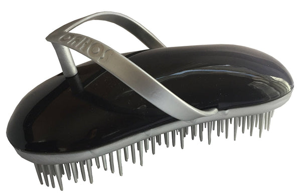 Sohyo Flip Flop Silver Licorise Detangler Brush Comb For Wavy Thick Fine Dry Wet-Sohyo-ebuyfashion.com