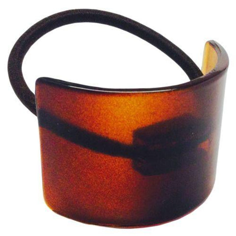 Parcelona France Canopy Celluloid Shell Pony Ponytail Hair Elastic Tie-Parcelona-ebuyfashion.com
