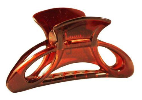 Parcelona France Open Classic Small Tortoise Shell Claw Jaw Hair Clip 2 1/3 Inches-PARCELONA-ebuyfashion.com