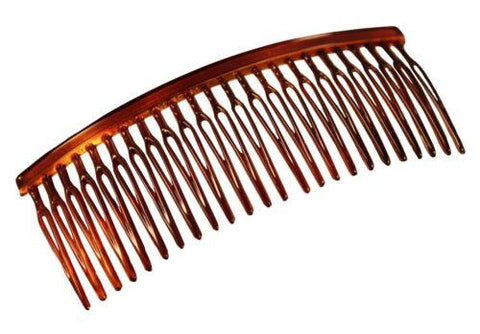 Parcelona French Large 3.5 Inch Celluloid Tortoise Shell Hair Side Comb-PARCELONA-ebuyfashion.com