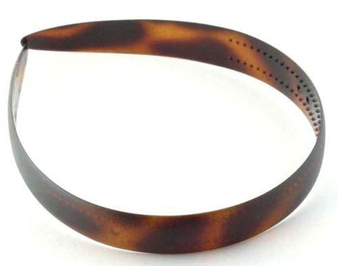 Parcelona Made In France Wide Celluloid Tortoise Shell Hair Head Band Headband-PARCELONA-ebuyfashion.com