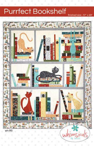 Purrfect Library Pattern