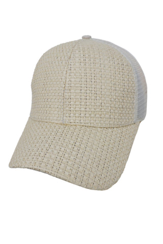 Tweed Mesh Back Cap