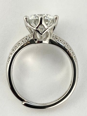 1ct, 2ct or 3 ct. Cathedral Style Ring
