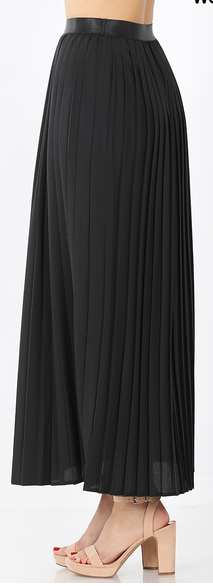 Pleated Elegance Skirt