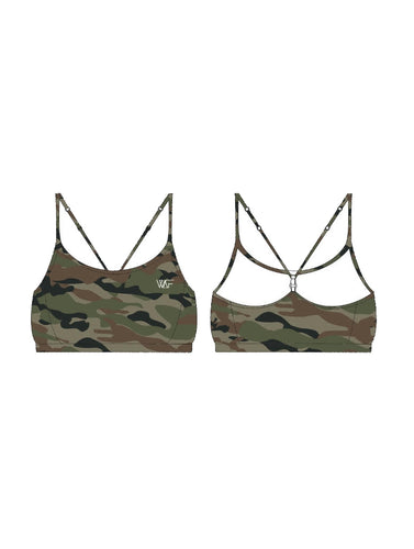 Brooklyn crop top - Camo print