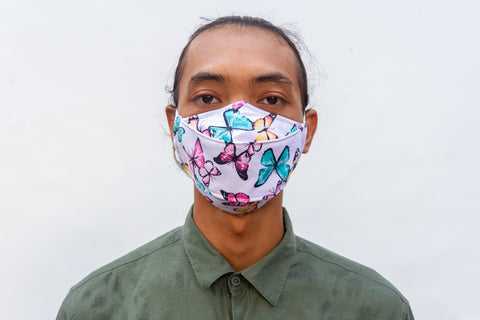 Face Mask - Origami Style