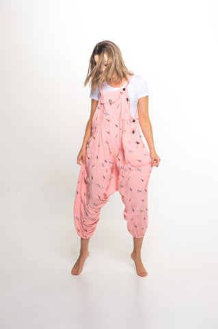 Pink Jungle Sammy Overall