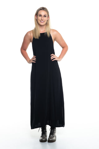 Black Zara Maxi Dress