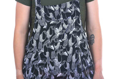 Black and White Toucan Sammy Overalls