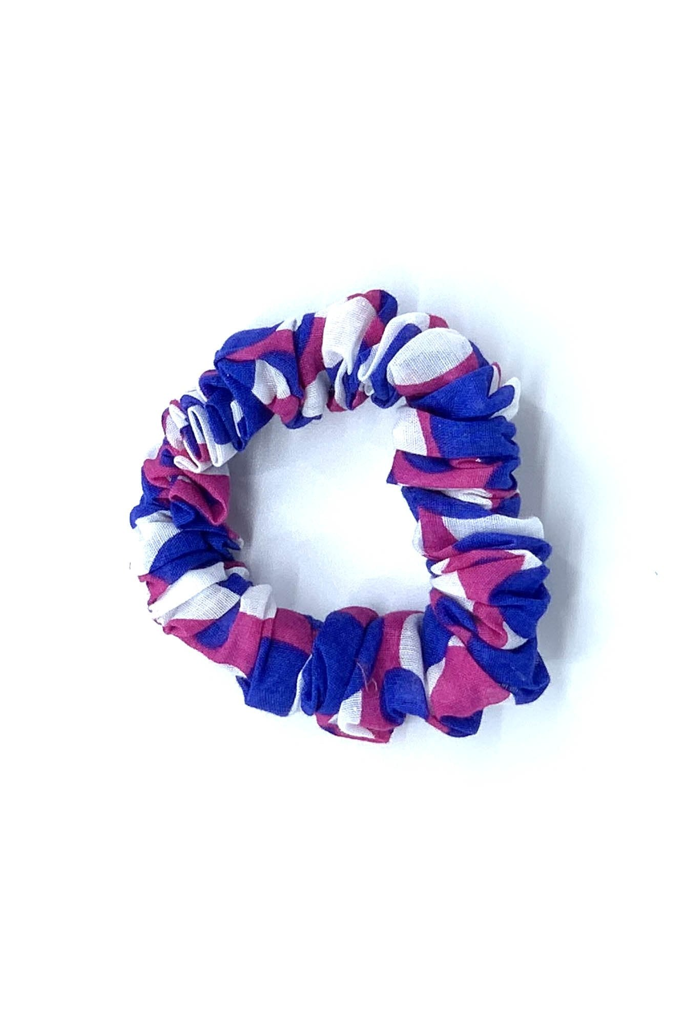 Blue Berry Fiz Scrunchie