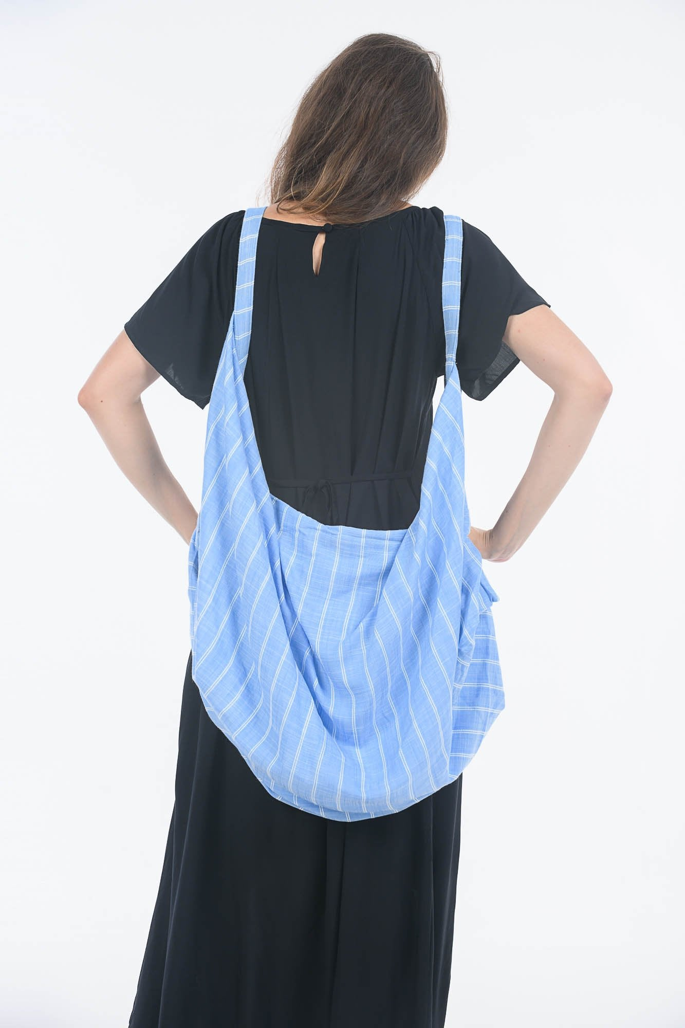 Blue Sky Stitch Broken Robot Bag