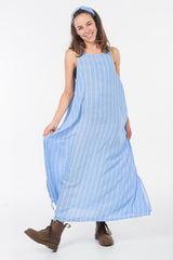 Blue Sky Stitch Zara Maxi Dress