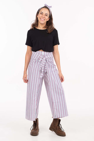 Candy Stripe Wrap Pants